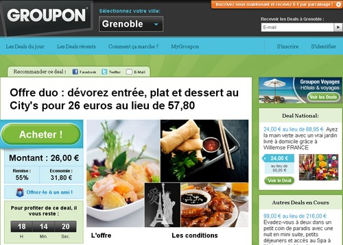 groupon 14 sites comme Groupon
