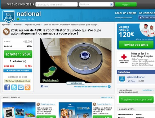 kgb deals 14 sites comme Groupon
