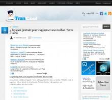 logiciels gratuits toolbar