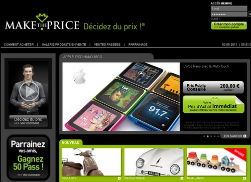 maketheprice 14 sites comme Groupon