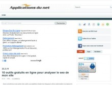 outils gratuits analyser seo