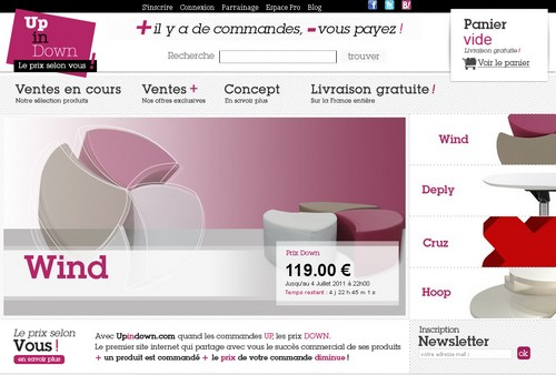upindown 14 sites comme Groupon