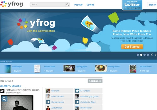 yfrog Les 40 meilleures applications Twitter