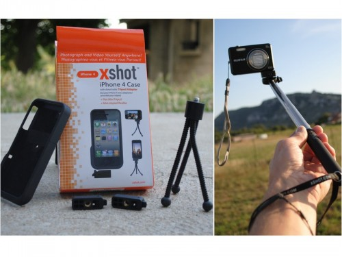 Pocket XShot trépied iPhone 4 500x375 Gagnez un XShot iPhone 4 Case et un Pocket XShot