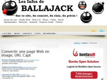convertir page web