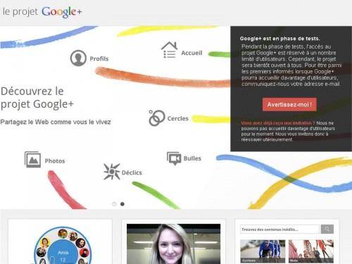 google+ projet