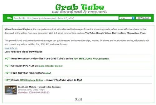 grab-tube
