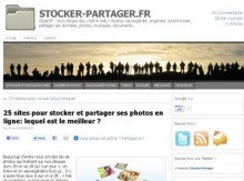 stocker photos en ligne