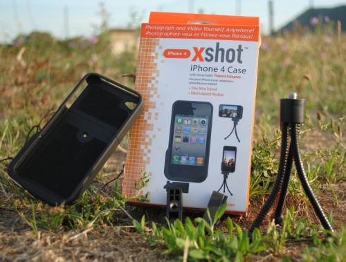 trepied xshot iphone 4 500x379 Gagnez un XShot iPhone 4 Case et un Pocket XShot