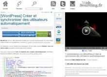 wordpress synchroniser utilisateurs