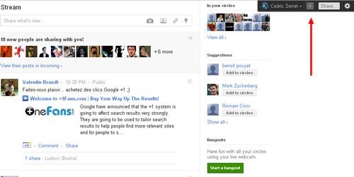 Fixed Google+ Notification