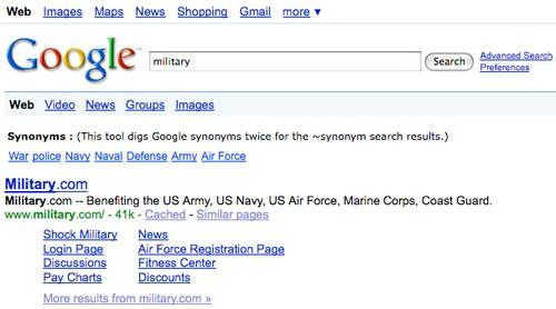 Google Semantics
