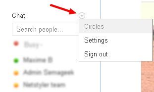 chat circle