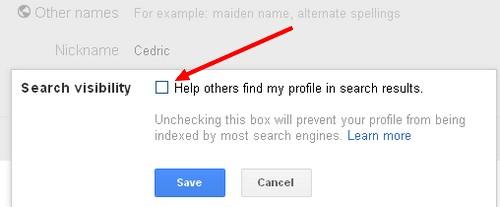 desactiver moteur de recherche