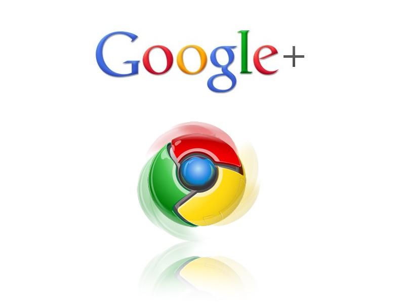 google+ google chrome