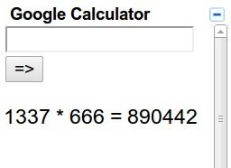 googlecalculator