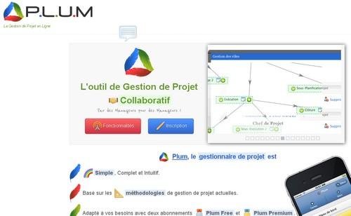plum 10 sites pour gérer un projet en ligne