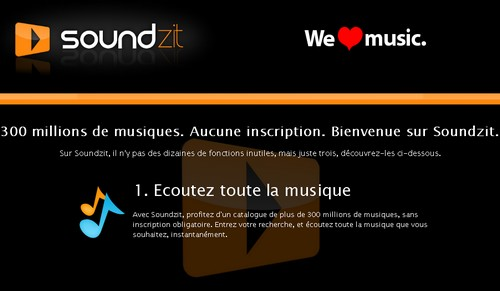 soundzit 10 alternatives gratuites à Deezer