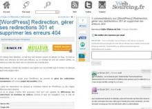 wordpress redirectiopn