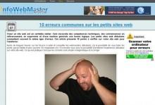 erreurs sites web