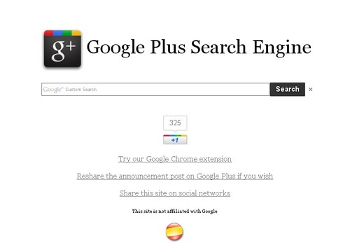 google plus search engine