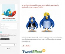 outils indispensables twitter