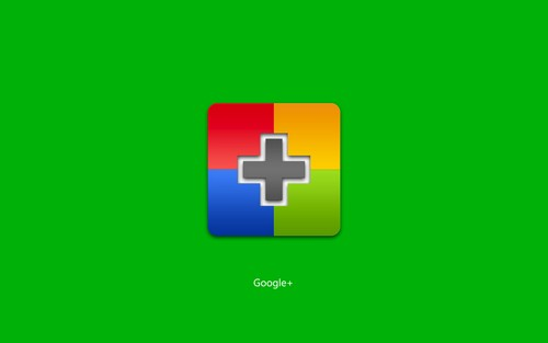 Google+ Plus Green Wallpaper