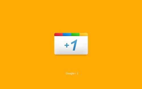 Google+ Plus Yellow Wallpaper