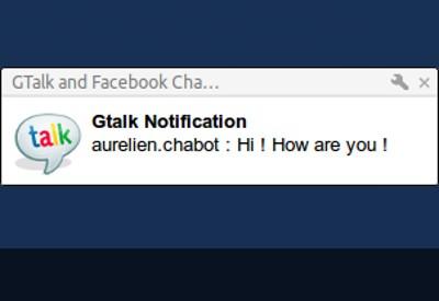 gtalk facebook