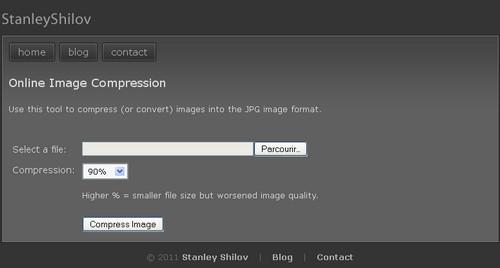 online image compression