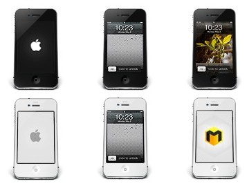 Iconset iPhone 4 Icons by Musett