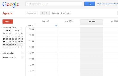 googla agenda