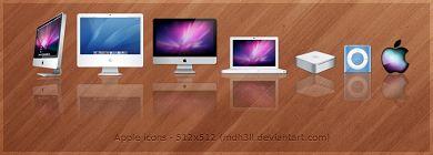 icone-apple-Apple icons