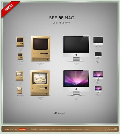 icone-apple-Bee Mac Icon
