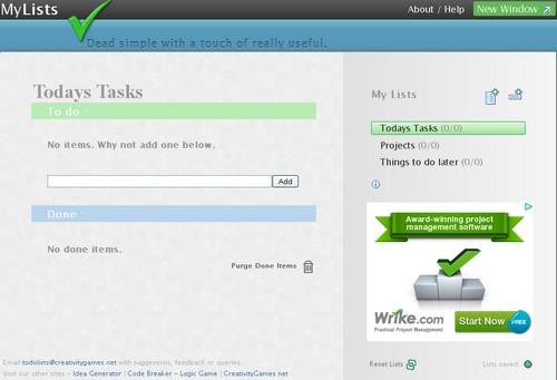 mylists 20 outils pour gérer vos tâches et devenir productif (Todo List)