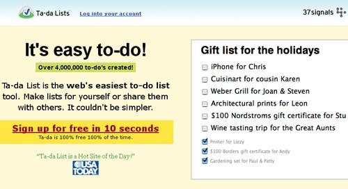 ta da lists 20 outils pour gérer vos tâches et devenir productif (Todo List)