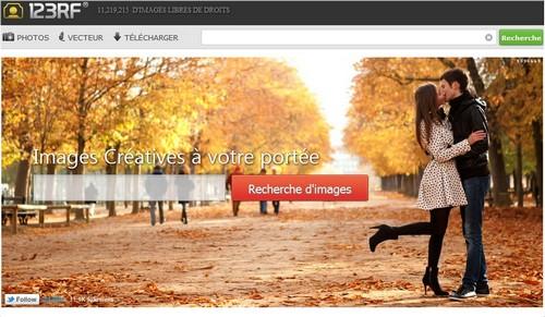 123rf 10 sites pour acheter des photos