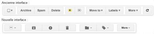 nouveau bouton gmail