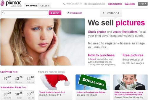 pixmac 10 sites pour acheter des photos