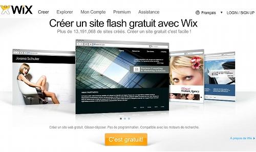 wix 5 ressources pour créer un site Web gratuit