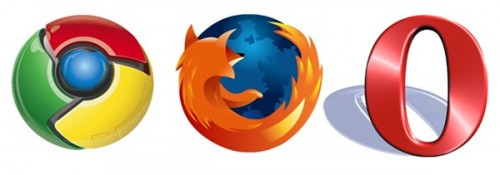 chrome-firefox-opera