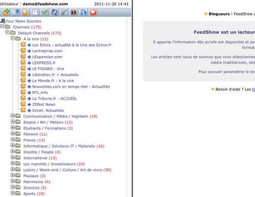 feedshow 11 alternatives à Google Reader