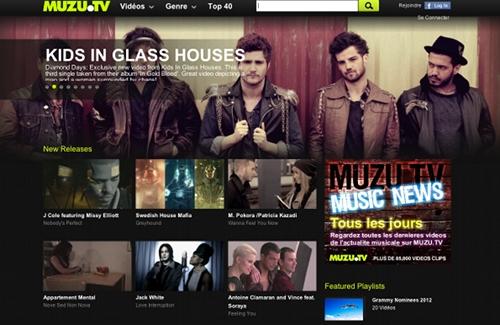 muzu 5 sites pour trouver des clips vidéo HD