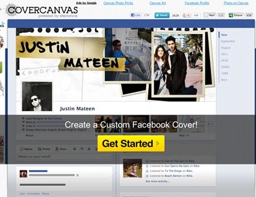 covercancas 7 outils en ligne pour créer une couverture Facebook (Facebook Timeline Cover)