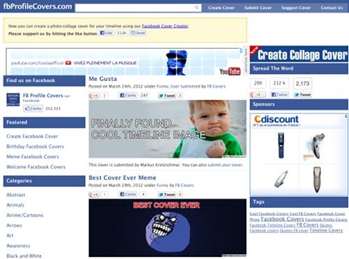 fbprofilecovers 7 outils en ligne pour créer une couverture Facebook (Facebook Timeline Cover)