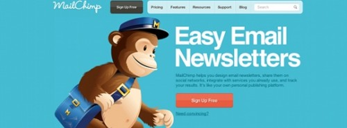 mailchimp1 500x185 5 alternatives gratuites à FeedBurner
