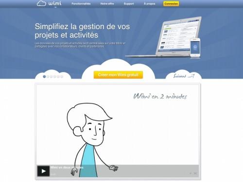 wimi 500x375 Wimi, pour simplifier la gestion de vos projets et activités