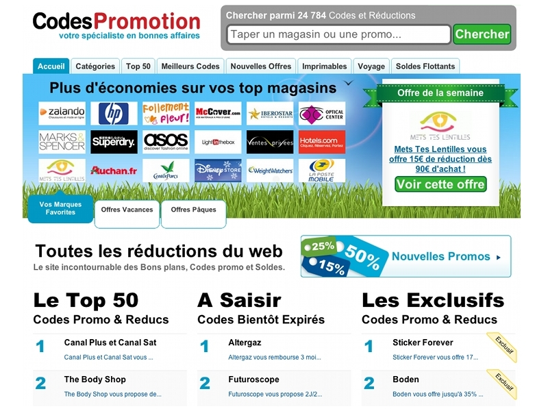 Le sp cialiste des coupons de r duction - Code reduction maisons du monde ...