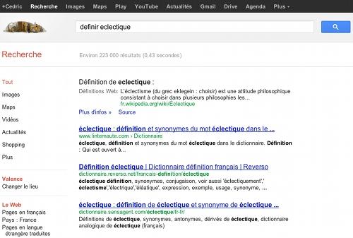 dictionnaire-google