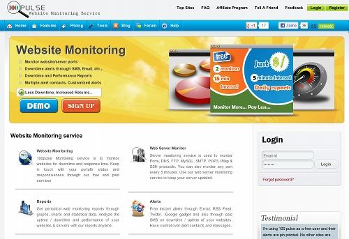100pulse 11 outils pour faire du monitoring sur un blog (ou un site)